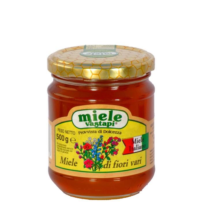 MIELE MILLEFIORI (IN VETRO) 500GR
