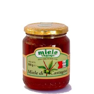 MIELE DI CASTAGNO -  - Miele di Castagno 500 gr