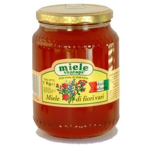 MIELE MILLEFIORI ITALIA -  - Miele Millefiori (in vetro) 1000gr